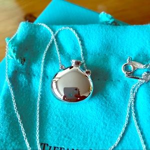 Gorgeous Tiffany and co. mini bottle pendant